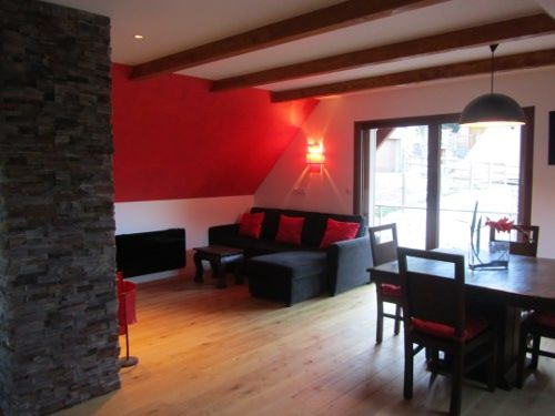 Living room Location Vacation rental 65220 Saint Lary Soulan