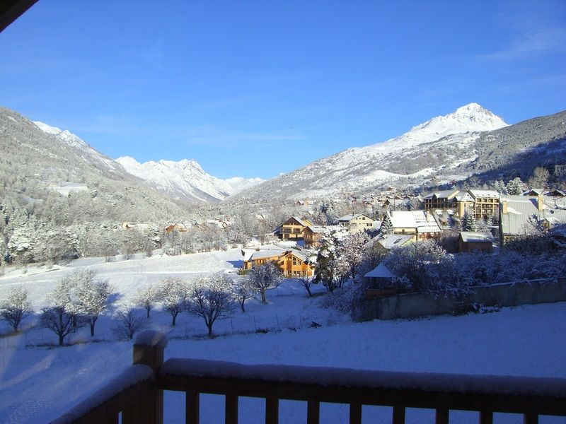 View from the balcony Location Apartment 80698 Briançon