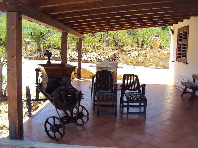 Porch 2 Location Villa 66027 Scopello