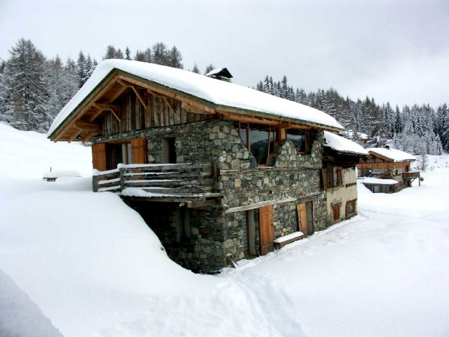 View of the property from outside Location Chalet 131 Les Arcs