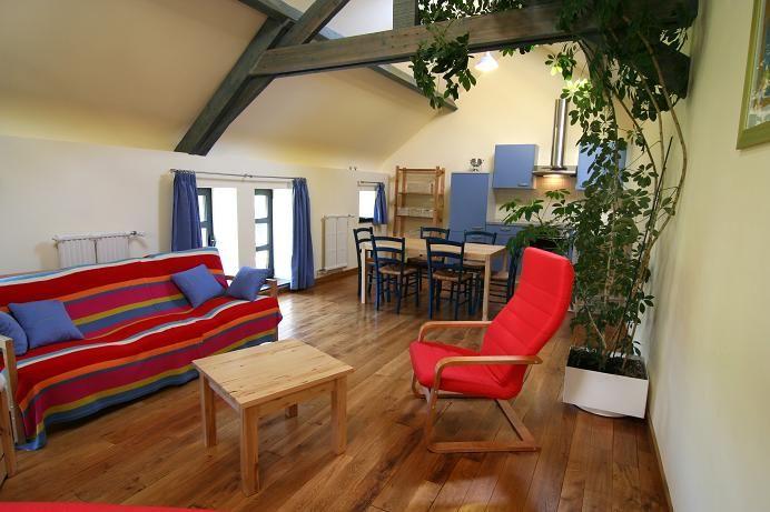 Living room Location Vacation rental 13238 Chimay