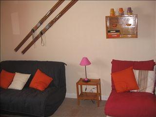 Lounge Location One-room apartment 14532 Arette La Pierre Saint Martin