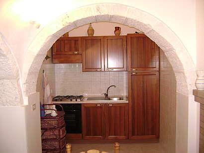 Kitchenette Location Chalet 16444 Alberobello