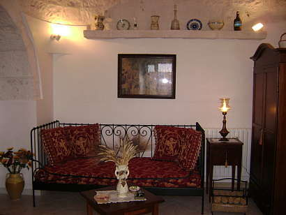 Living room Location Chalet 16444 Alberobello