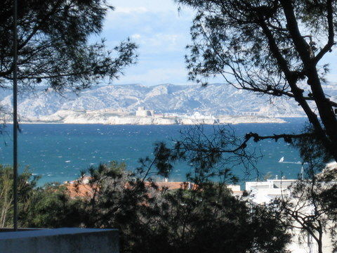 View from the terrace Location Apartment 18588 Marseille