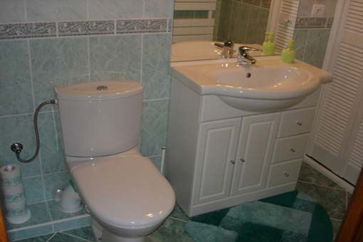 Half bath Location Apartment 19057 Nice