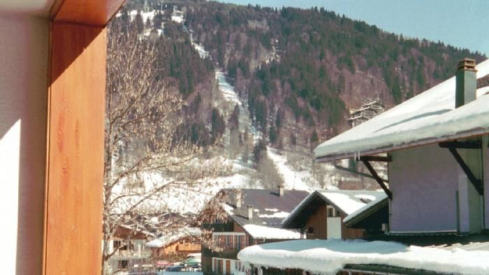 View from the balcony Location One-room apartment 1938 Morzine