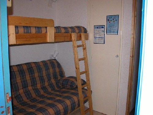 bedroom Location One-room apartment 211 Les Arcs
