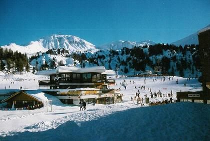 View from the property Location One-room apartment 2134 La Plagne