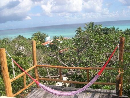 View from the terrace Location Villa 24799 Playa del Carmen