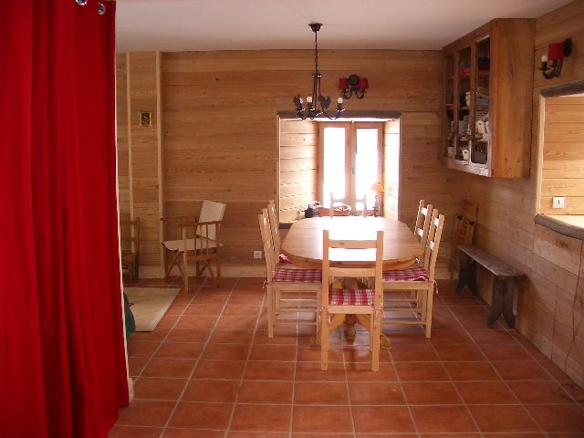 Dining room Location Chalet 2501 Saint Jean d'Arves