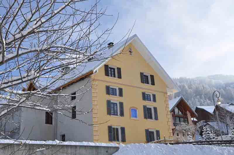 View of the property from outside Location Apartment 26150 Valloire