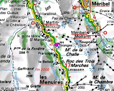 Location Chalet 2665 Saint Martin de Belleville