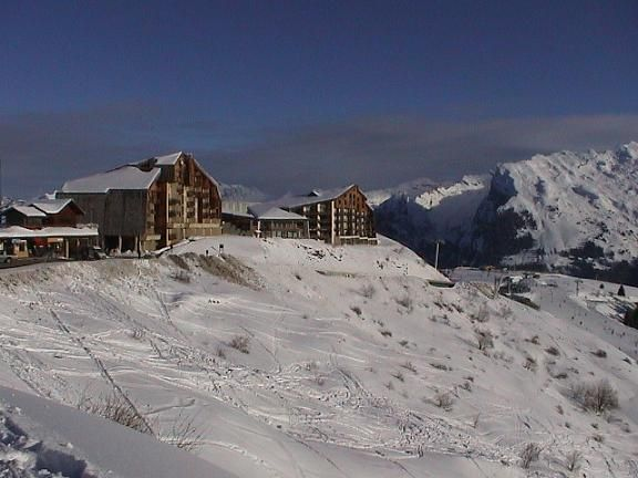 View of the property from outside Location One-room apartment 2754 Samoëns