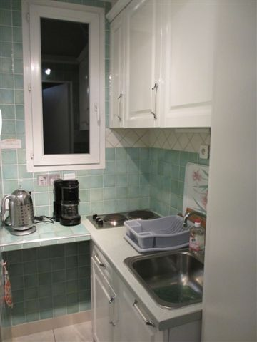 Summer kitchen Location One-room apartment 28371 Nice