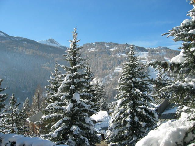 View from the property Location Chalet 2856 Serre Chevalier