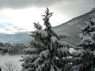 View from the balcony Location Chalet 2856 Serre Chevalier