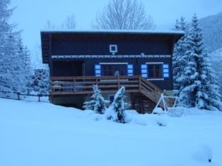 View of the property from outside Location Chalet 2917 Serre Chevalier