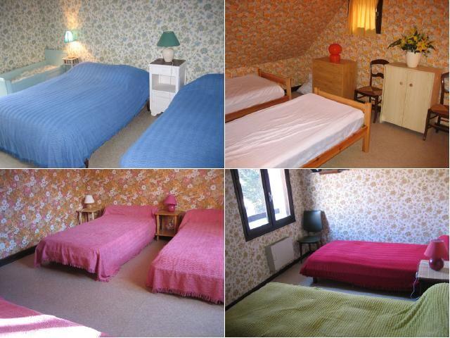 bedroom Location Villa 29390 Luchon Superbagneres