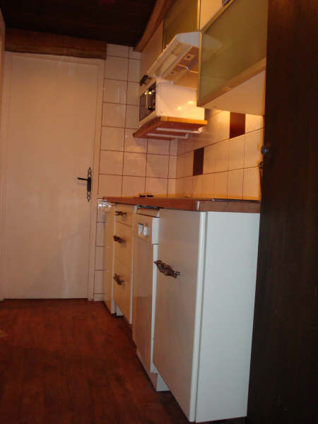 Kitchenette Location One-room apartment 3137 Tignes