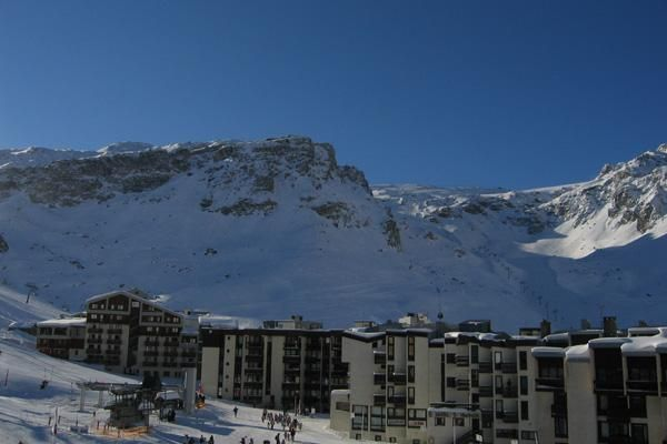 View from the balcony Location One-room apartment 3137 Tignes