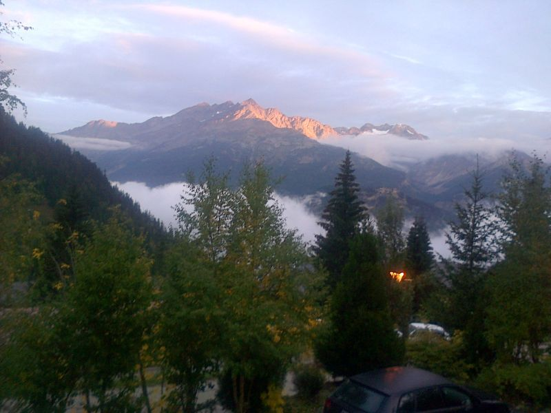 View from the property Location Chalet 3290 Valfréjus