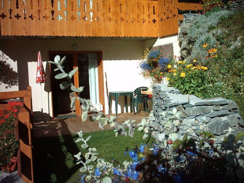 Garden Location Chalet 3291 Valfréjus