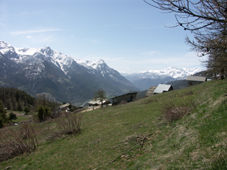 View from the property Location Chalet 33866 Briançon