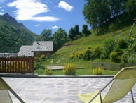View from the terrace Location Apartment 3395 Valloire