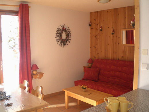 Lounge Location One-room apartment 3414 Valloire