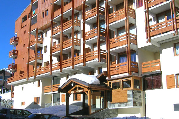 View of the property from outside Location Apartment 3523 Val Thorens