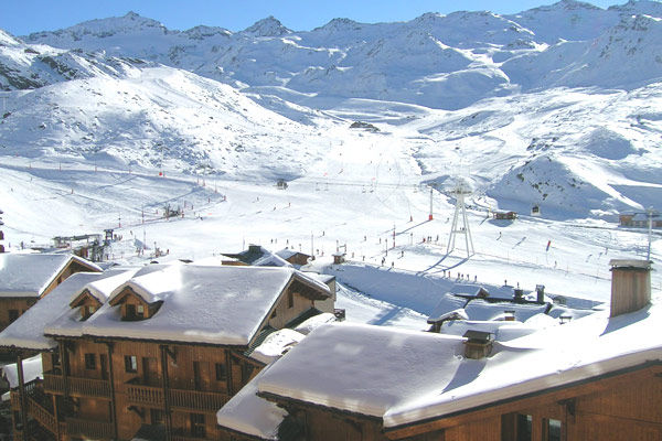 View from the balcony Location Apartment 3523 Val Thorens