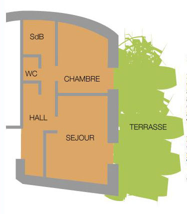 Map of property Location Apartment 38237 Valloire