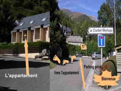 Area map Location One-room apartment 4058 Cauterets