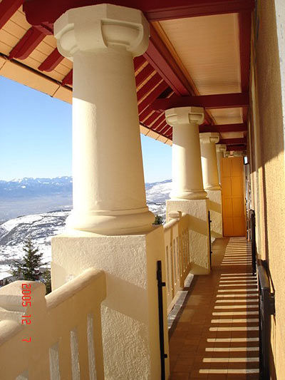 Balcony Location Apartment 4136 Font Romeu