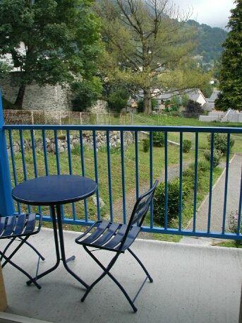 Balcony Location Apartment 4279 Luz Saint Sauveur