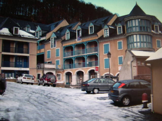 View of the property from outside Location Apartment 4318 La Mongie