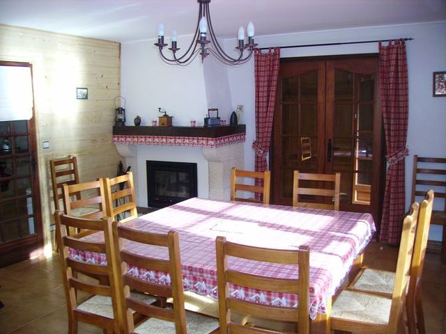 Dining room Location Chalet 4356 Loudenvielle
