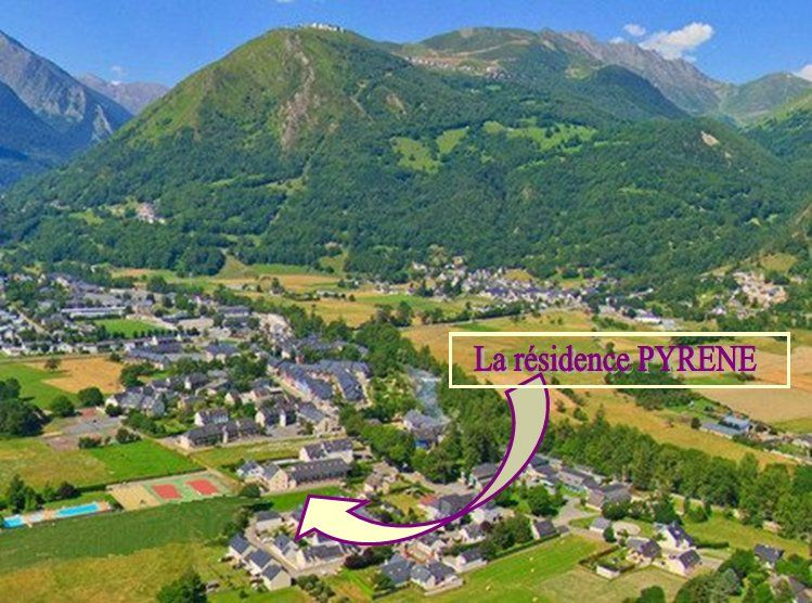 Area map Location Apartment 4397 Saint Lary Soulan