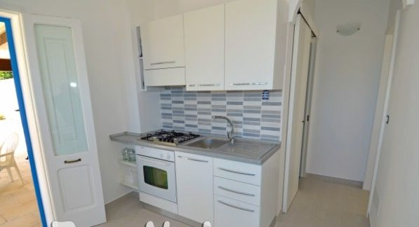 Separate kitchen Location House 45348 Pescoluse
