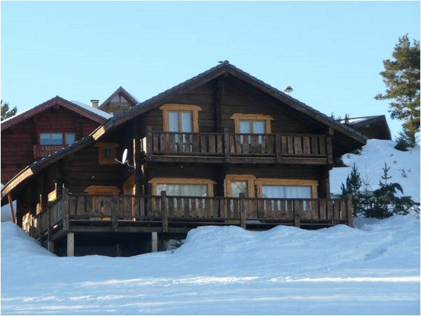 View of the property from outside Location Chalet 49568 La joue du Loup