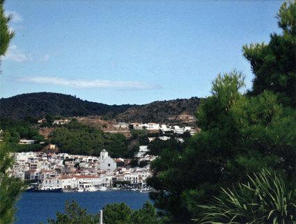 View from the balcony Location Villa 5186 Cadaqués