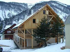 View of the property from outside Location One-room apartment 536 Arvieux en Queyras
