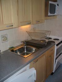 Open-plan kitchen Location One-room apartment 536 Arvieux en Queyras
