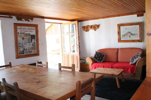 Dining room Location Apartment 538 Arvieux en Queyras