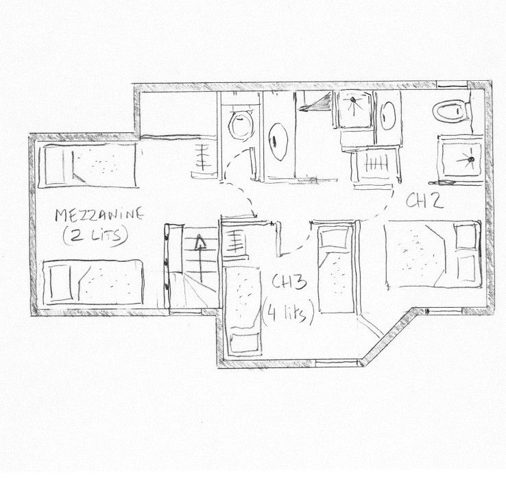 Map of property Location Apartment 55934 Valmorel