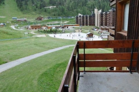View from the balcony Location Apartment 57938 La Plagne