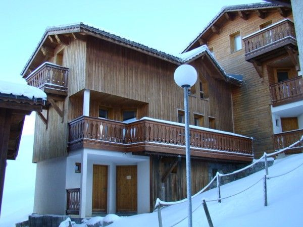 View of the property from outside Location Chalet 58607 La Plagne