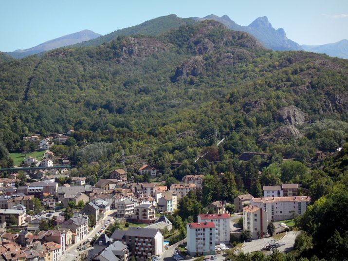 Surroundings Location Apartment 58968 Ax Les Thermes