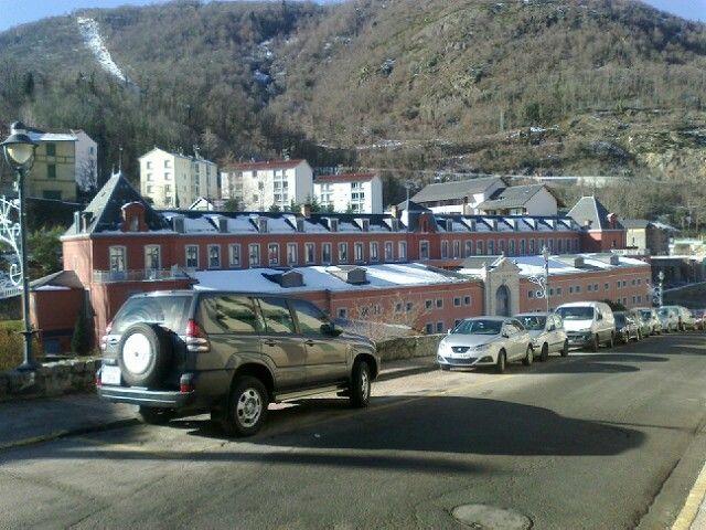 Parking Location Apartment 58968 Ax Les Thermes